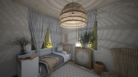 Boho - Bedroom  - by ObsessedDiys