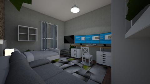 Marks Zimmer - Modern - Bedroom  - by Buildyyy