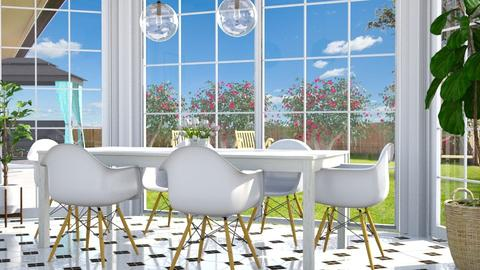 Rhythm divine - Eclectic - Dining room  - by Lucii