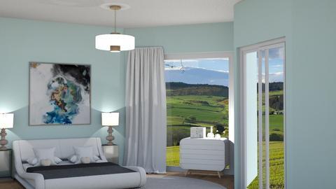 Scandinavian bed - Minimal - Bedroom  - by rcrites457