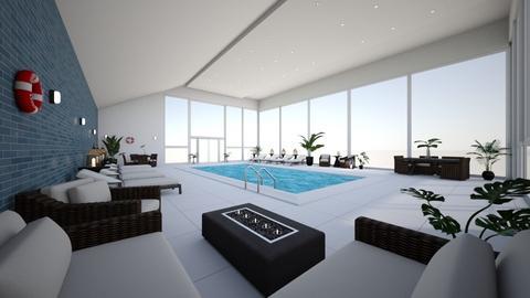 Hotel Pool - by katelindsayy22
