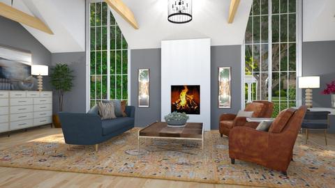 Sloped Ceiling 2 - Living room  - by jjp513