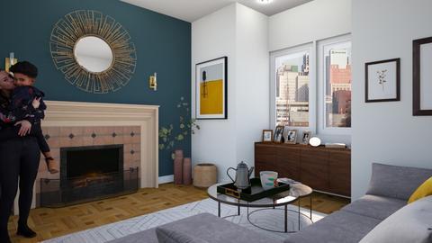 Retro - Living room  - by ShaynaHowell