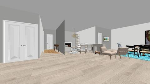 cool kid house - Living room  - by FqE
