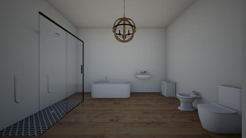 Servicio de casa - Modern - Bathroom - by Housedesignq