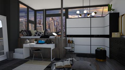 MODERN - Bedroom - by Miss MH