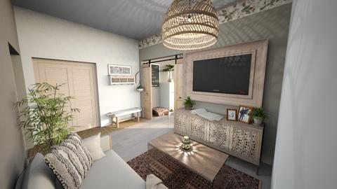 Accessible Suite Living  - Living room  - by luna smith