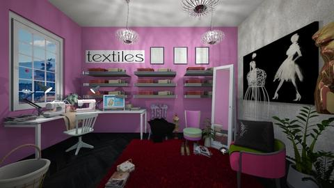 Sewing room - by Ancy