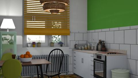 Parisian kitchen - Kitchen  - by Niniko