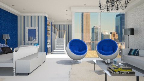 sky room - Classic - Bedroom  - by Luana  Oliveira