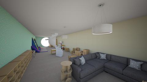 Duplex for M floor 2 play - Kids room  - by haileyhair