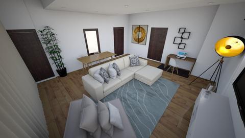 Diamond Flat Living Room - Living room  - by OlayinkaA