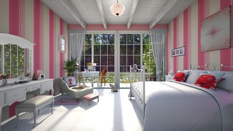 Friendship - Bedroom - by Blancac