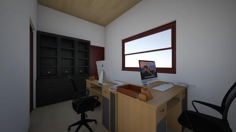 Birou 2 - Office  - by dorinsalajan