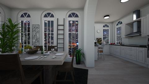 Kitchen and Dining - Eclectic - Dining room  - by deleted_1603315438_TokyoScare