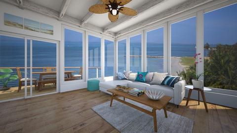 Beach - Living room - by alejavsantos
