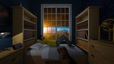 Star Dreams - Bedroom  - by SammyJPili