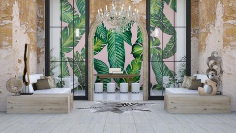 Jungle Living - Living room  - by Parisrosali