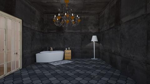 art deco bathroom - Bathroom  - by westernwind