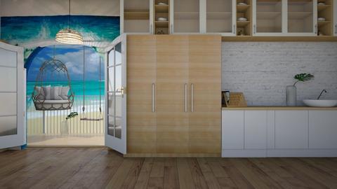 Ocean Kitchen - Modern - Kitchen  - by matildabeast