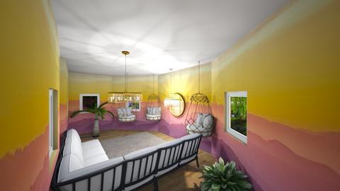 Sunset living room - Living room  - by Snowball Styler