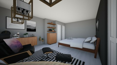 Bedroom Redesign - Modern - Bedroom - by bdonoh2528
