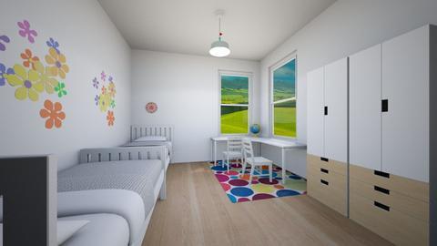 Colors - Classic - Kids room  - by Twerka