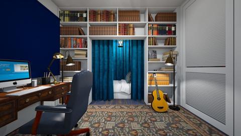 Ravenclaw Teen - Bedroom  - by SammyJPili