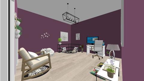 Work Room - Office  - by oliwastaken