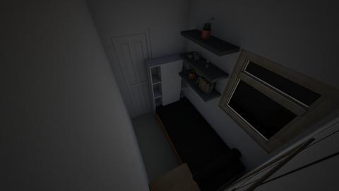 3rd Bedroom - Minimal - Bedroom  - by xsreynolds