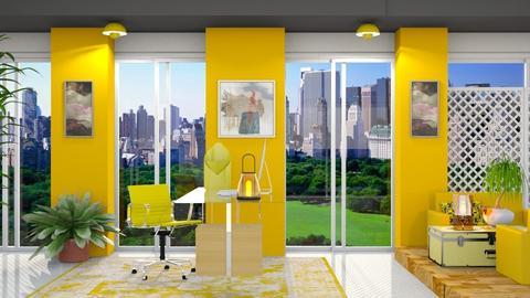 Work in yellow - by Nari31