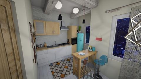Scandinavian style cuisin - Kitchen - by mariazurkan