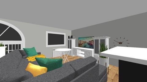 Salon - Modern - Living room  - by szuwarek16