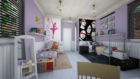 Shared Bedroom - Eclectic - Bedroom  - by Brubs Schmitt