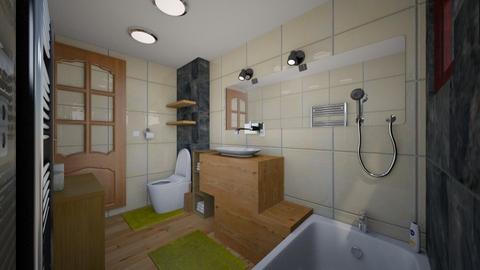 kupelnicka zachod - Bathroom  - by Sojkaaa