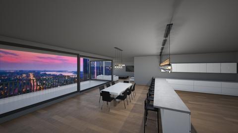 Big Windows Kitchen - by The Masterest