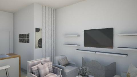 Small College Apartment - Feminine - Living room - by Jenissa13