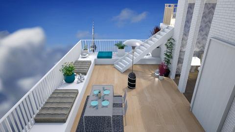 Split balcony - Modern - Garden - by augustmoon