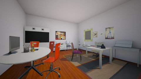 Magazine editoor office - Eclectic - Office  - by Charlotte Aliceee