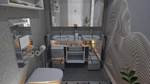 toilet - by nat mi