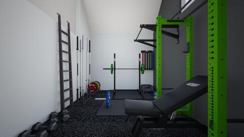 garage gym 02 v3 - by Ewyl
