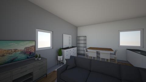 anouck huis - Dining room - by anouckcauchie