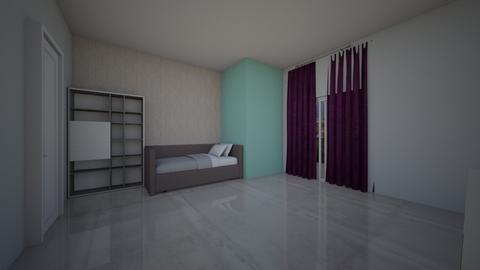 prasino - Bedroom  - by naanaatoo