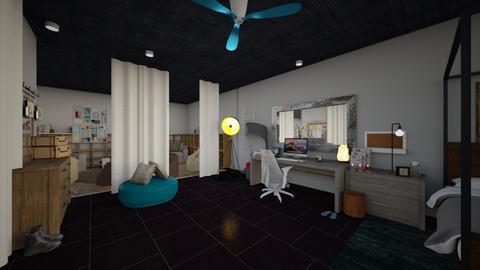 Front Room - Living room  - by Skeletal404