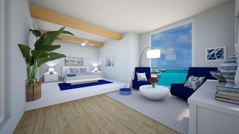summer - Bedroom  - by Martina0205