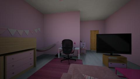 habitacion puerta - Bedroom  - by yunni_