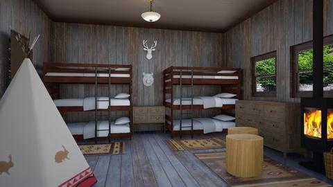 cabin - Kids room  - by steker2344