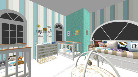 babys - Kids room  - by Lauris Osorio