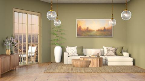 Simple living - Living room  - by Oyisha