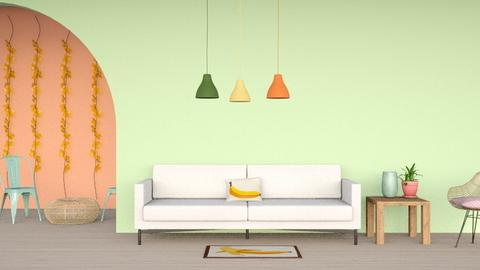 art deco - Living room  - by tigeriffic